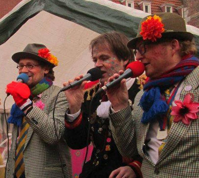 Carnaval in Limburg Bart, Fred & Ruud