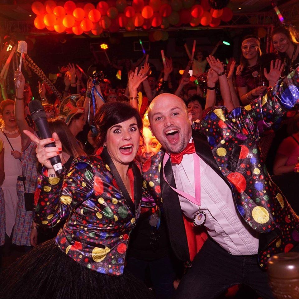 Carnaval in Limburg Bjorn en Mieke