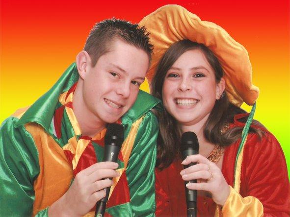 Carnaval in Limburg Denise en Ritchie